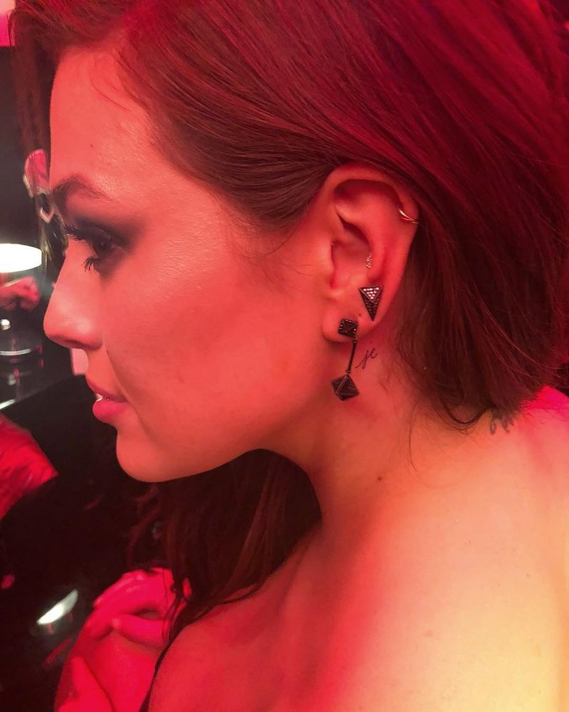 Cute Small Tattoos Of Celebrities