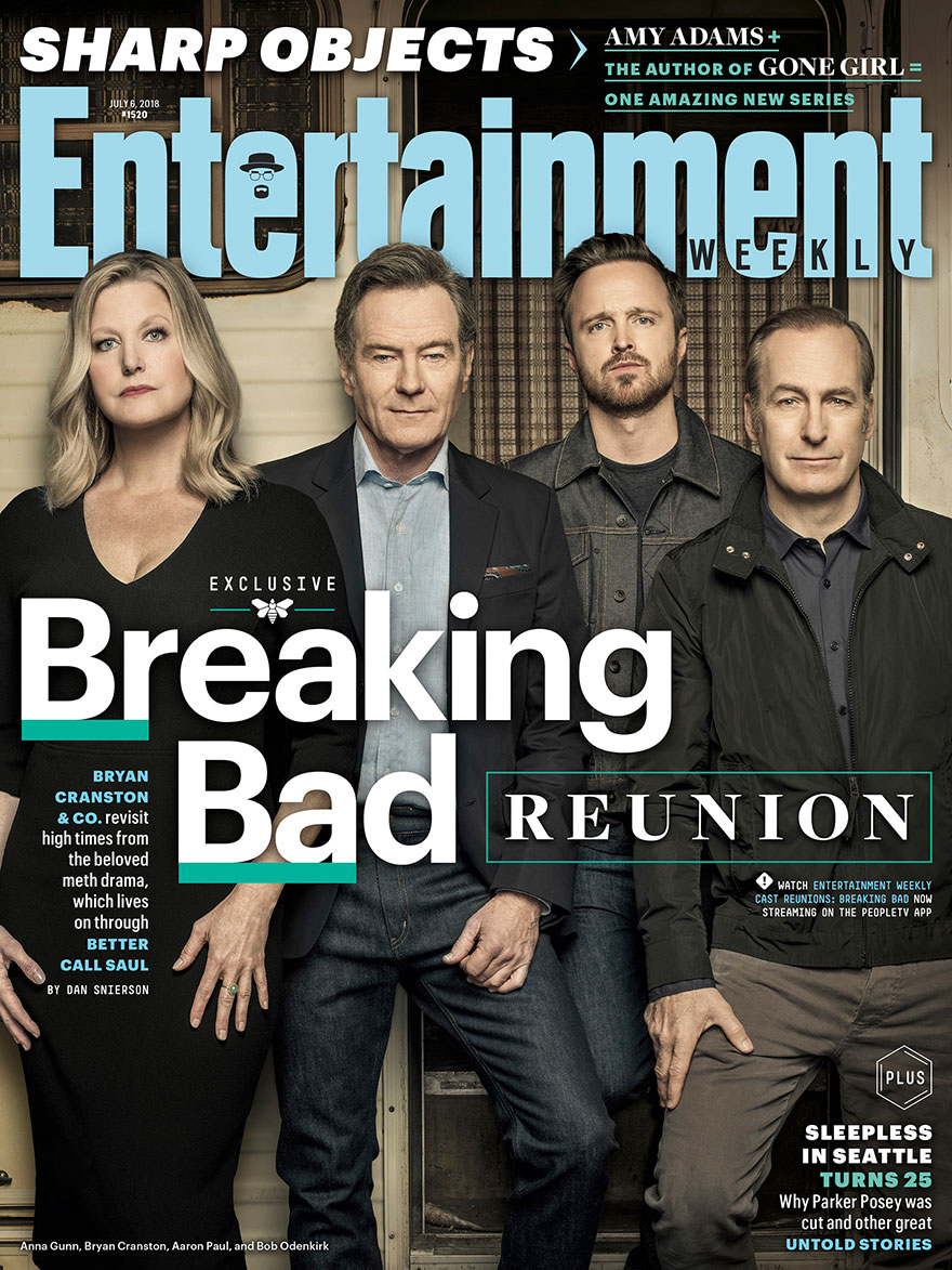 The Cast Of 'Breaking Bad' Reunites To Celebrate The 10th Year Anniversary Of The Show, And They Look Nothing Like They Did On The Show