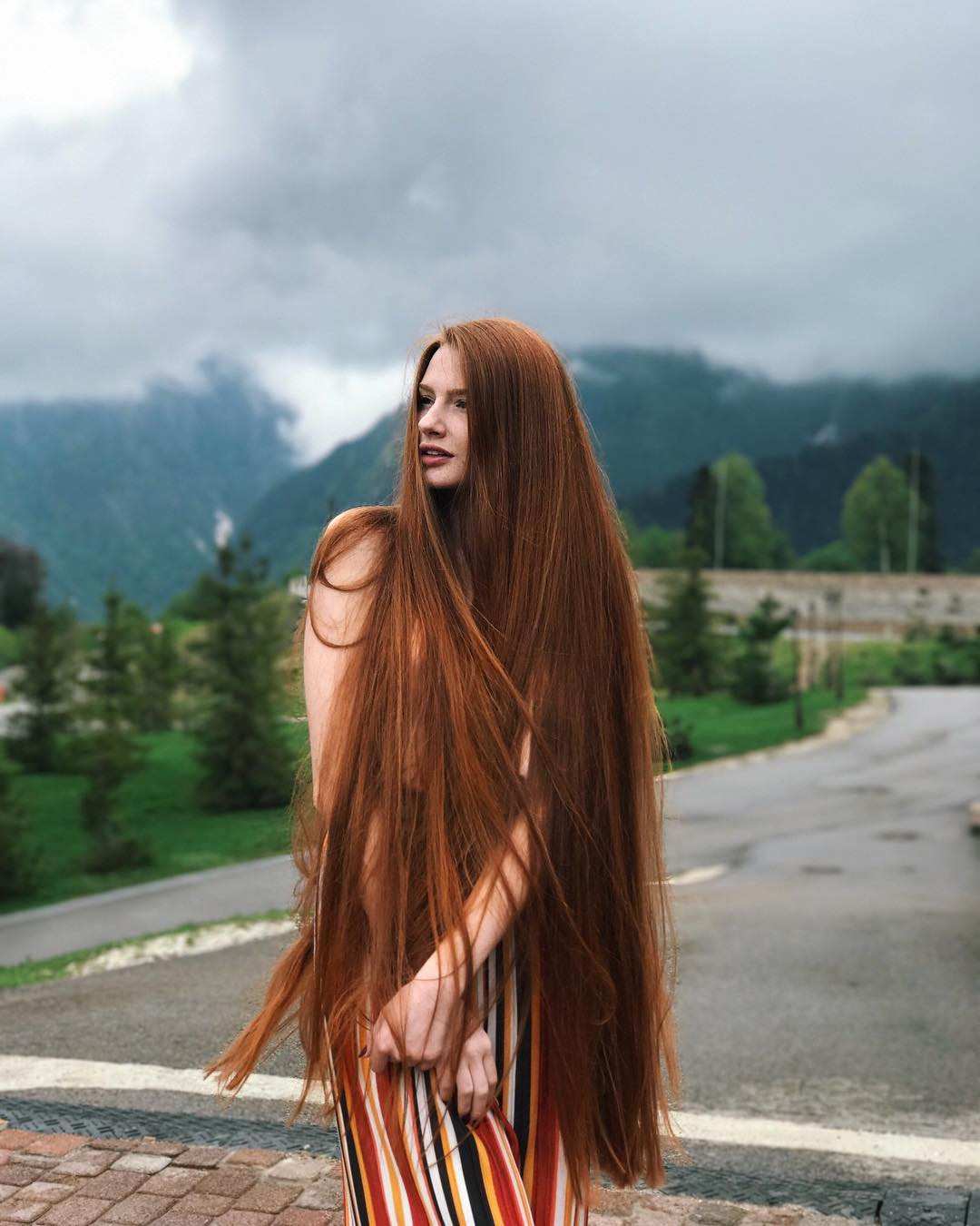 Once Suffered From Alopecia, Anastasia Sidorov Now Looks Like A Real Life Rapunzel