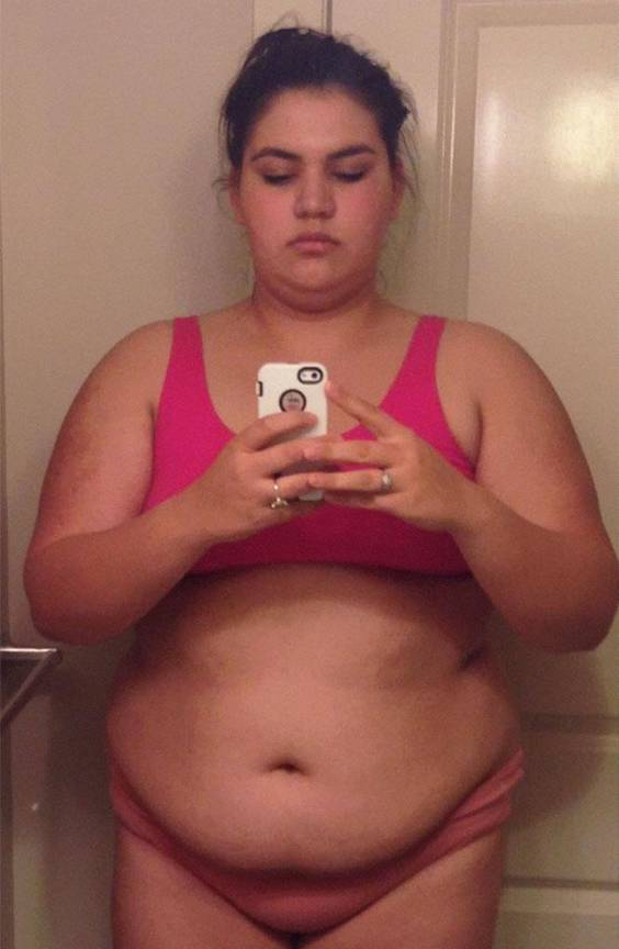 Overweight Woman Shows What Workout Did To Her Body, And Her Transformation Is Unbelievable