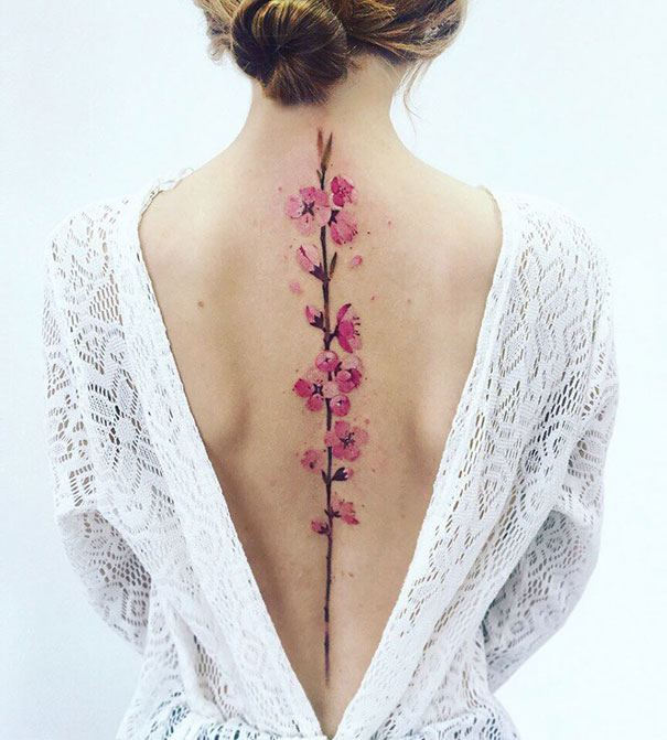 50 Of The Best Spine Tattoos Highlighting the Powerful Beauty of the Vertebrae