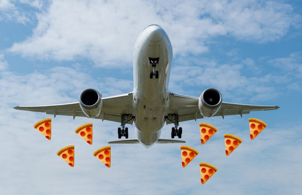 Some Nigerians Are Having Pizzas Flown 4,000 Miles From Britain As A Sign Of Status -