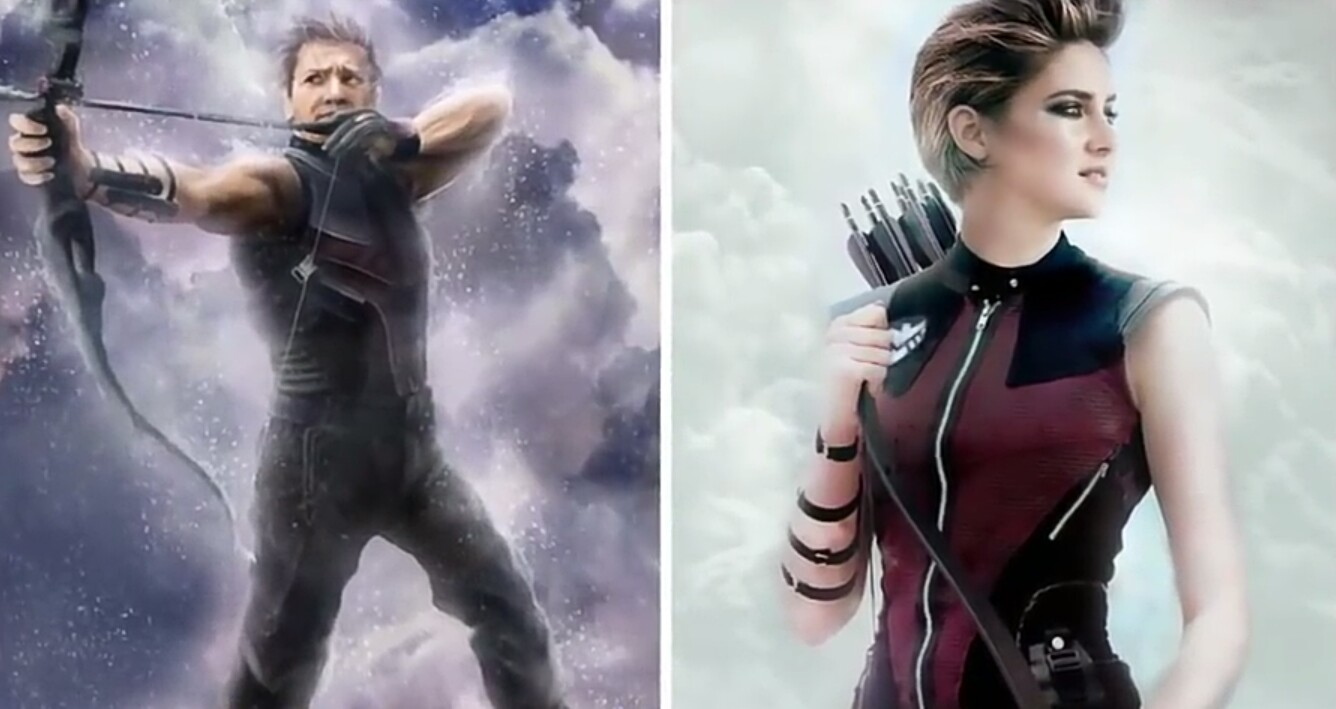 female versions of Superheroes and villains