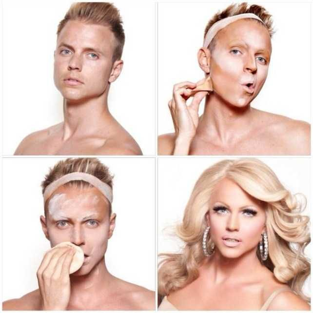 makeup transformations of women