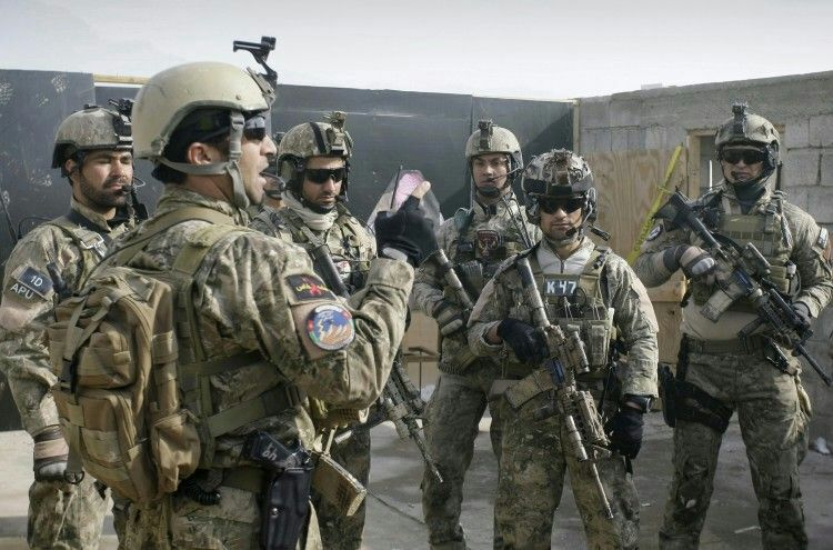 uniforms of special forces