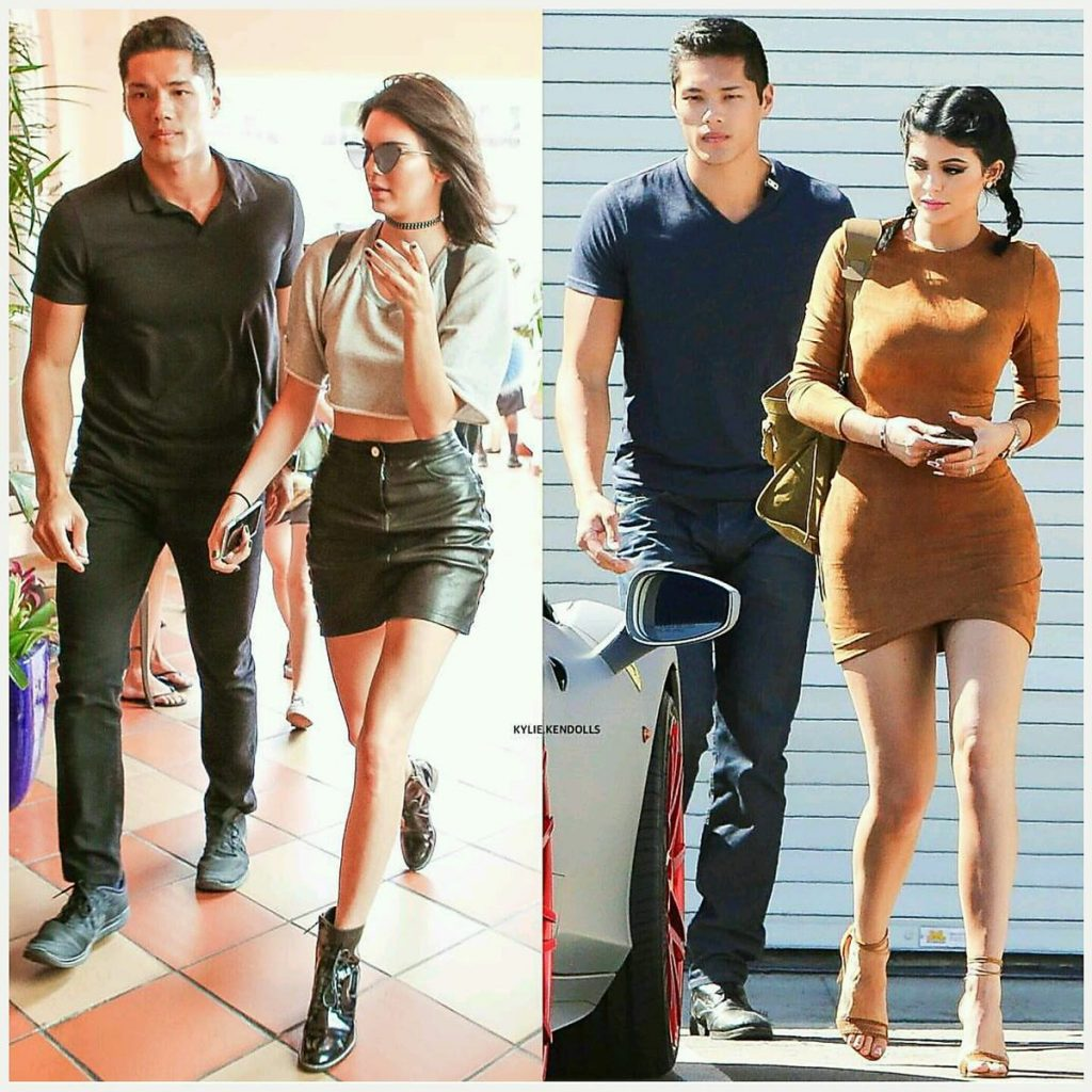 Tim Chung hot bodyguard of Kylie Jenner