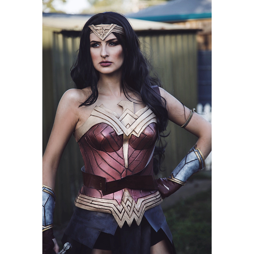 Wonder woman look recreation