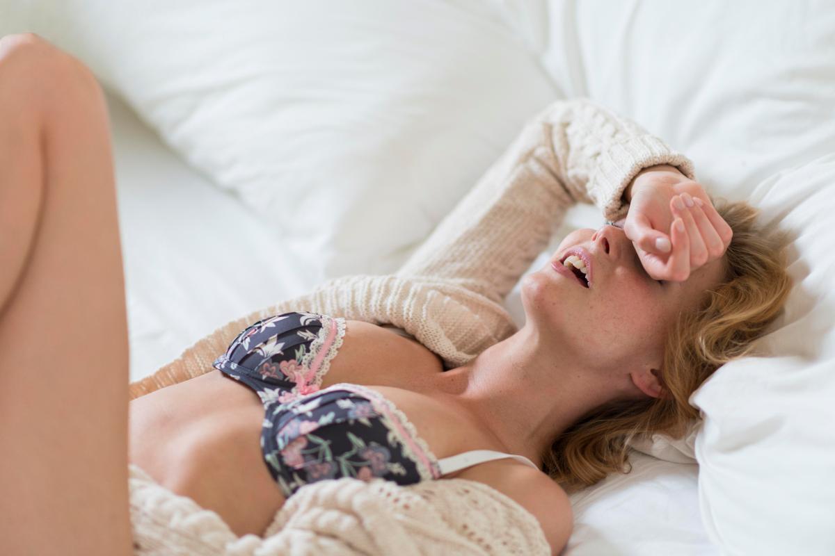Sensitive spots of women