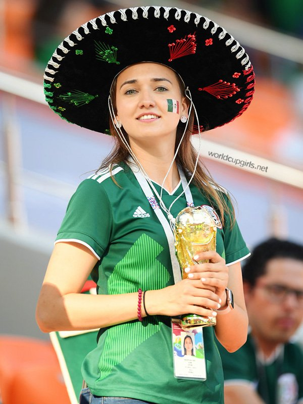 Gorgeous faces in FIFA World Cup 2018